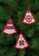 Hardanger tree  red