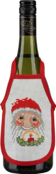 Little apron w/red border