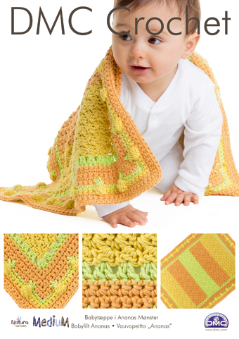 Baby Pineapple Blanket  NM SE5