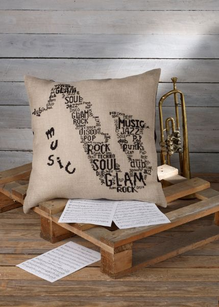 Saxophone pillow