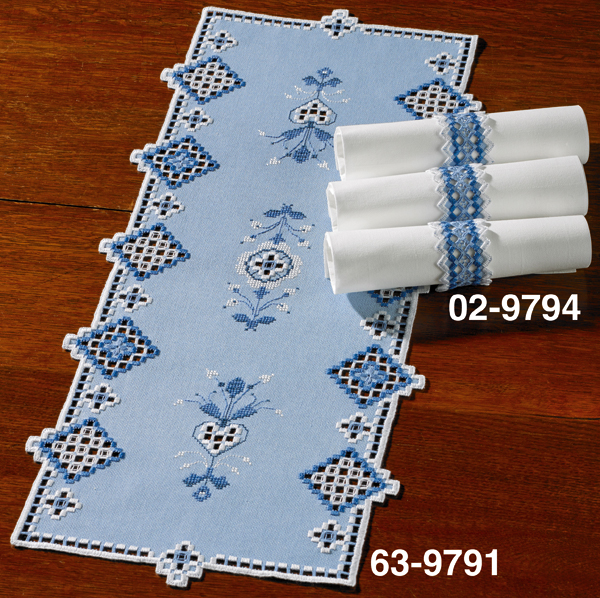 Napkinrings blue 3pcs