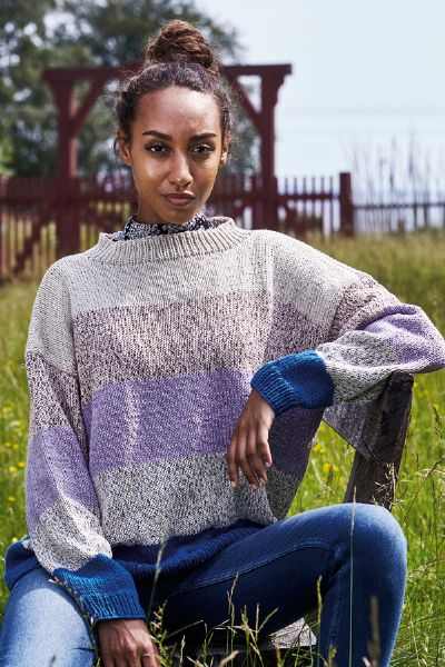 Viola Sweater M/Str.Klara SE5