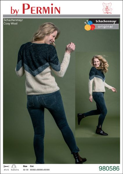 Cosy Wool sweater V     SE5