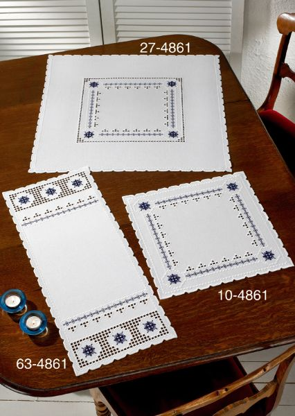 Hardanger with blue