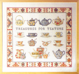 Tea-time        51x47cm R5764