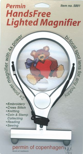 LumiCraft magnifier silver