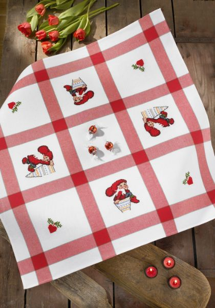 Tablecloth  Red