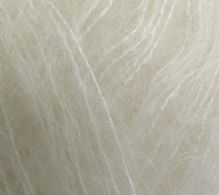 Angel mohair white