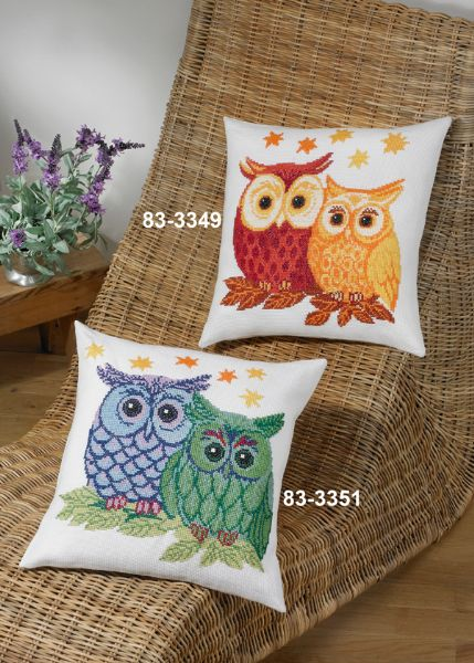 Owls blue/green
